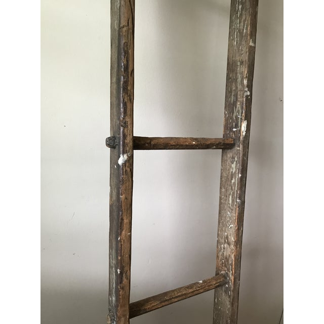 Cottage 19th Century Barn Ladder From Apple Farm For Sale - Image 3 of 8