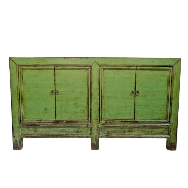 Green Fern Green Sideboard For Sale - Image 8 of 8