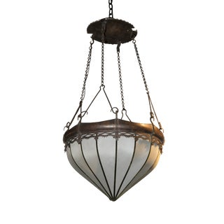 Arts & Crafts Hanging Pendant Fixture For Sale