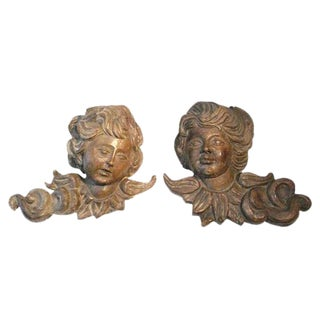 19th C South American Sherubs/Puttis - A Pair For Sale