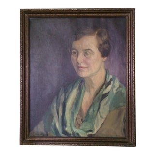 1930s Portrait of Attractive Woman For Sale