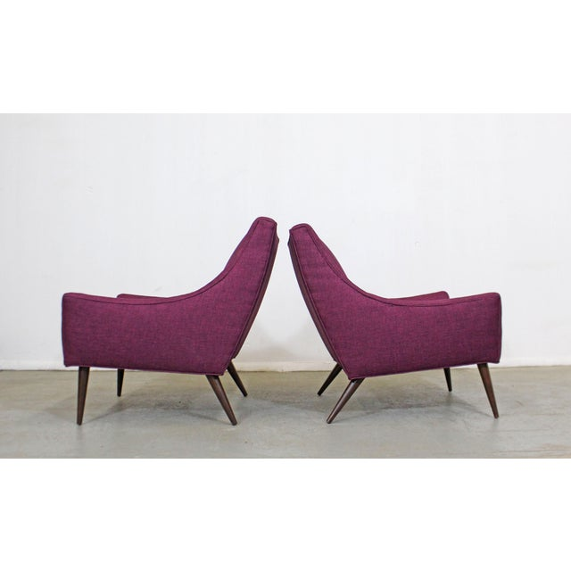 Mid 20th Century Pair of Mid-Century Modern Paul McCobb Style Lounge Chairs For Sale - Image 5 of 12