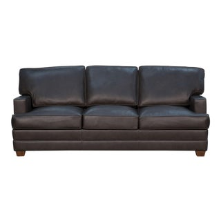 Maxima Metal Leather Sofa