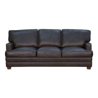 Maxima Metal Leather Sofa