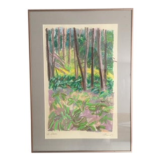 Late Afternoon Pastel Drawing by Brita Holmquist For Sale