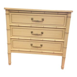 Henry Link Hand Painted Cream Three Drawer Chest