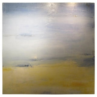 Marc Antoine Goulard 'French 1964' Oil Painting on Panel For Sale