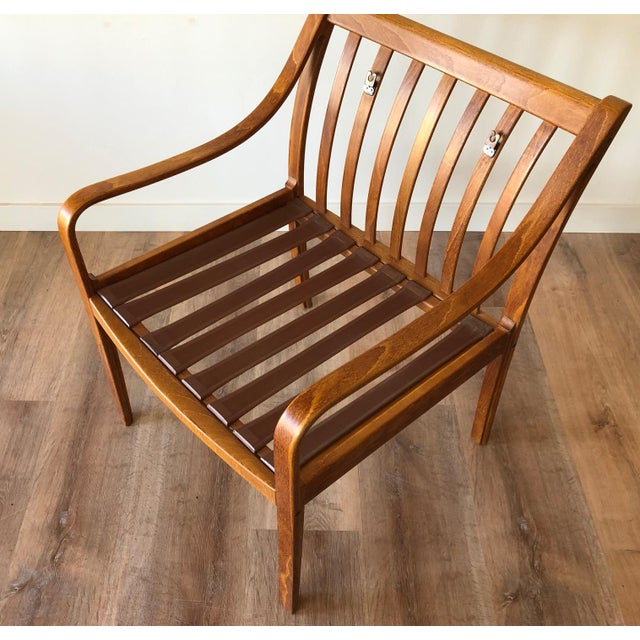 Danish Mid-Century Modern Side Chair by j.m. Birking For Sale - Image 10 of 13