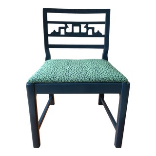 Vintage Baker Accent Chair For Sale