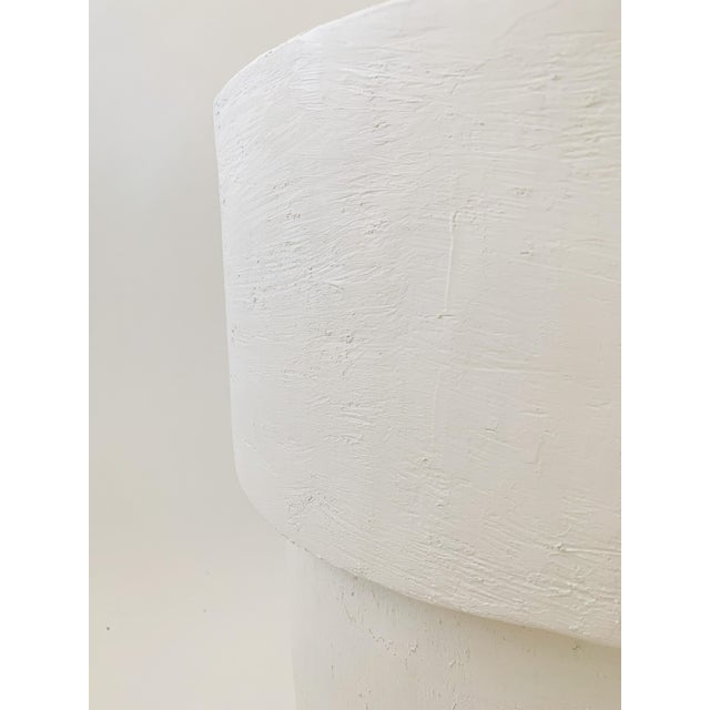 Not Yet Made - Made To Order The Matilda Mushroom Shape Plaster Side Table For Sale - Image 5 of 6