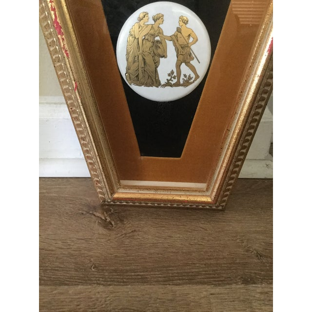 Mid Century Grecian Shadowbox by Andrew Kolb and Son Ltd - a Pair For Sale - Image 4 of 13