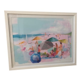 "Framed ""The Beach II"" Print"