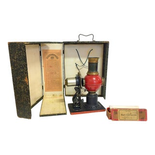 1850s Vintage Lanterna Magica Projector For Sale