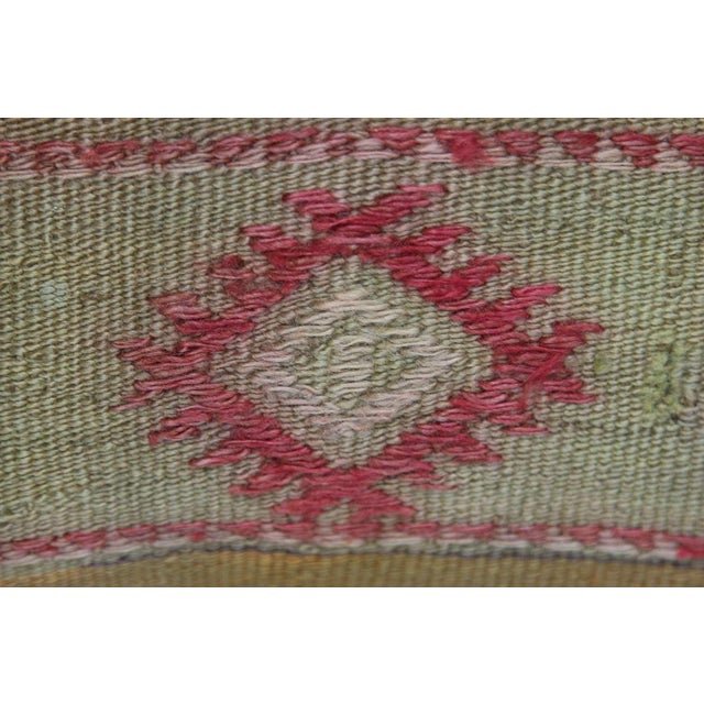 Turkish Kilim Pillow Covers - A Pair - Image 5 of 7