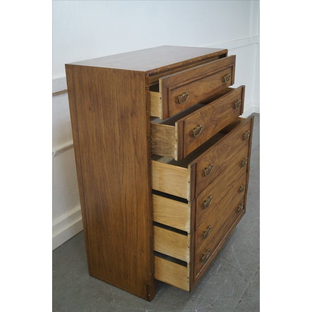 Lane Faux Bamboo Vintage Tall Chest - Image 8 of 10