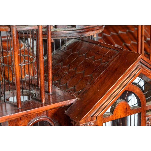 Mid 20th Century Architectural Bird Cage For Sale - Image 5 of 12