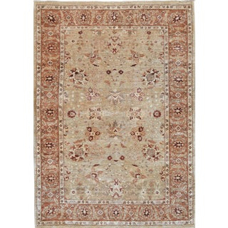 """Mansour Superb Quality Handwoven Agra Rug - 6'3"""" X 8'8"""" For Sale"""