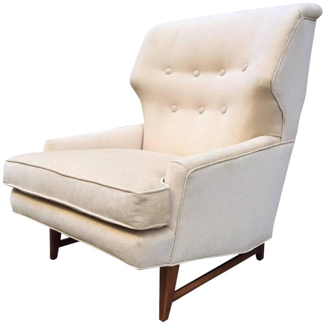 Lounge Chair by Edward Wormley for Dunbar For Sale