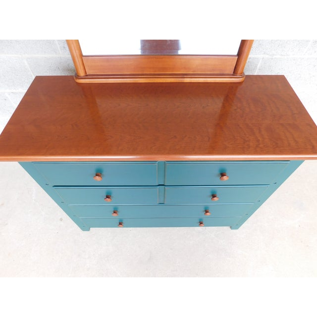 Thomasville Solitaire Collections Chest With Mirror For Sale - Image 9 of 12