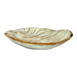 Monique Gerber Stratos Collection Bronze Dish by Serge Mansau For Sale