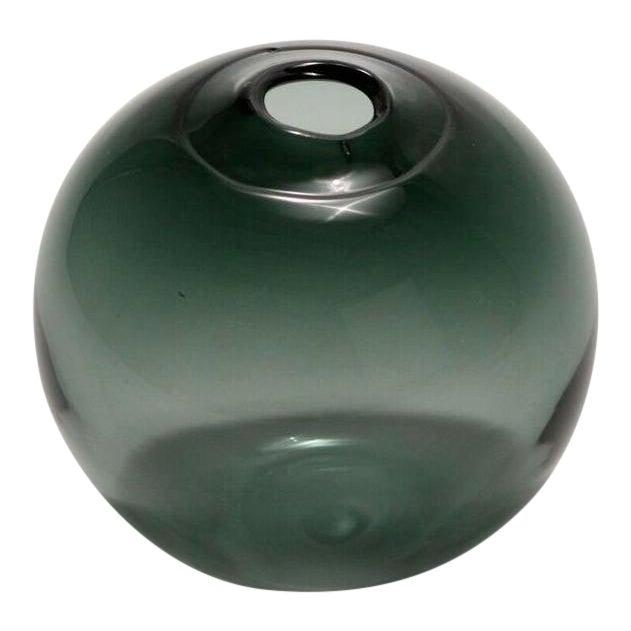 "SkLO Float Glass Vessel 6"" - Smoke For Sale"