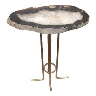 Custom Agate Drink Table