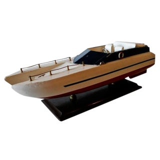 1960's Catamaran Speed Boat Model For Sale