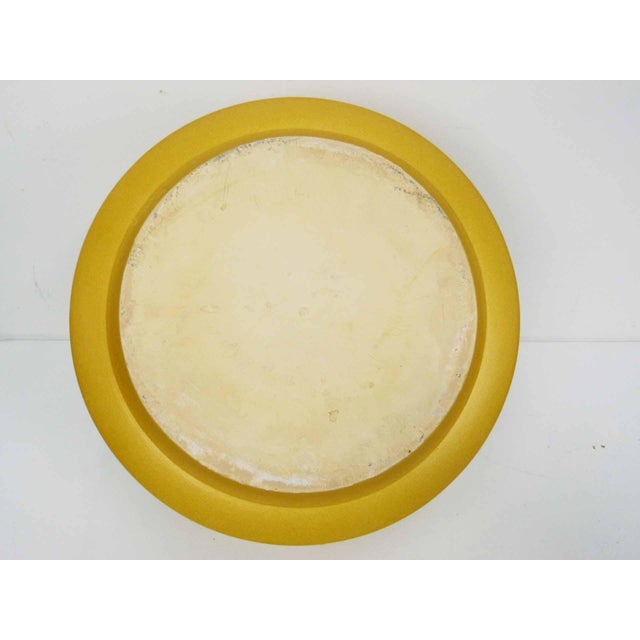 Ceramic Gainey Ceramics Mustard Yellow Planters - Set of 3 For Sale - Image 7 of 10