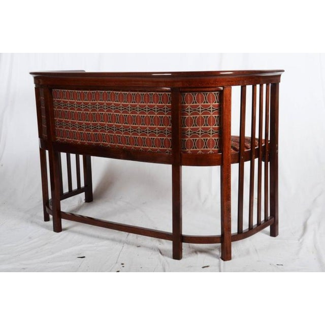 Late 19th Century Antique Bentwood Seat by Josef Hoffmann for Thonet For Sale - Image 5 of 11