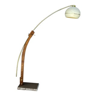 1960s Nova Guzzini Arc Floor Lamp For Sale