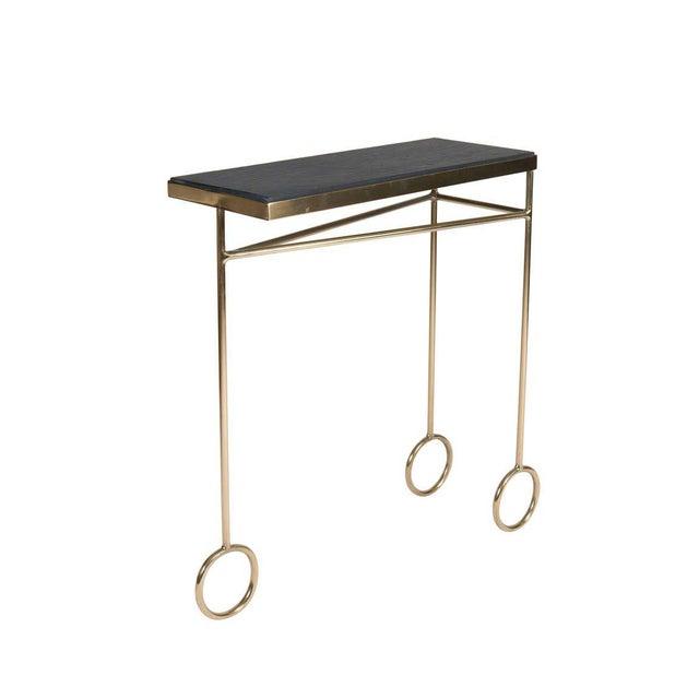 Mid-Century Modern Customizable Larose Table For Sale - Image 3 of 4