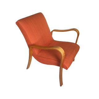 1950s Vintage Thonet Bentwood Armchair For Sale