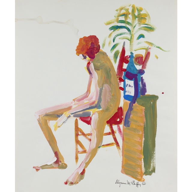 Bay Area Figurative Painting by A. McGaffey - Image 1 of 2