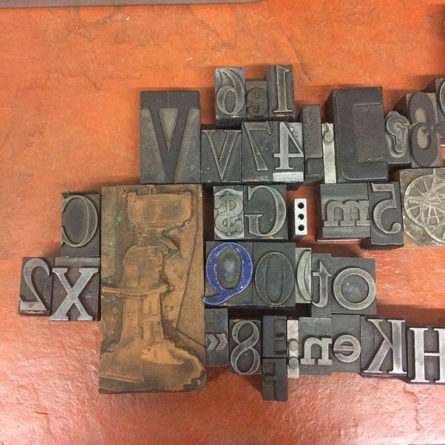 Print Letter Blocks - Set of 49 - Image 3 of 8