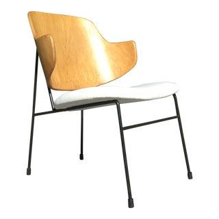 Mid Century Modern Ib Kofod Larsen Lounge Chair For Sale