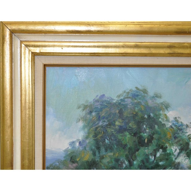 Signed Impressionist Oil Painting - Image 6 of 8