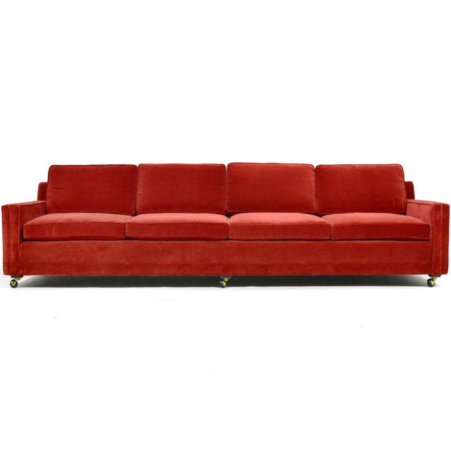 Harvey Probber Double Arm Sofa For Sale - Image 10 of 10