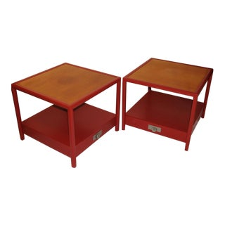 Michael Taylor for Baker Side Tables - a Pair