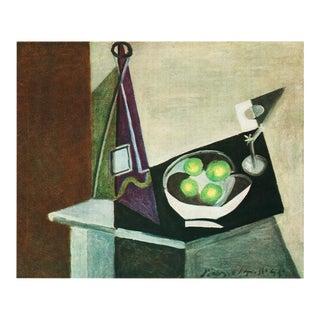 "1943 Picasso, Original ""Table Servie"" Parisian Period Lithograph For Sale"