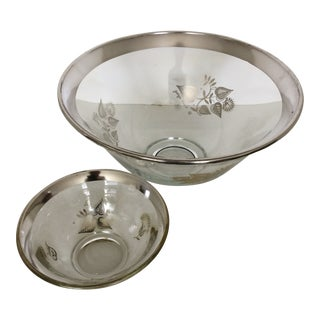 Mid-Century Modern Georges Briard Chip and Dip Bowls - Set of 2 For Sale