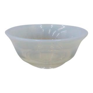 Vintage Opaline Cocktail Bowl For Sale