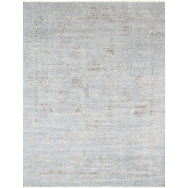 Pasargad's Transitiona Gray Wool Rug- 10' x 14' - Image 1 of 4