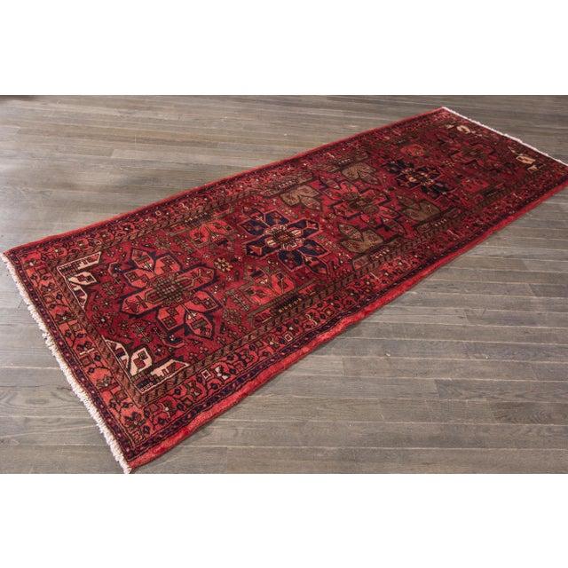 """Apadana - Vintage Persian Rug, 3'5"""" x 9'7"""" - Image 7 of 7"""