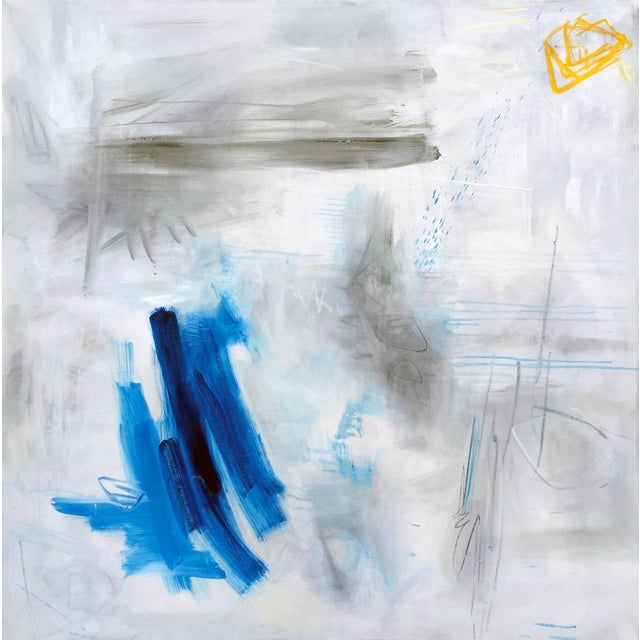 """""""Clearing"""" by Trixie Pitts Large Abstract Oil Painting For Sale - Image 11 of 11"""