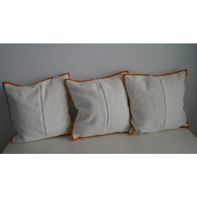 Hermès Hermes Cushion Covers With Tiger Embroidery - Set of 3 For Sale - Image 4 of 12