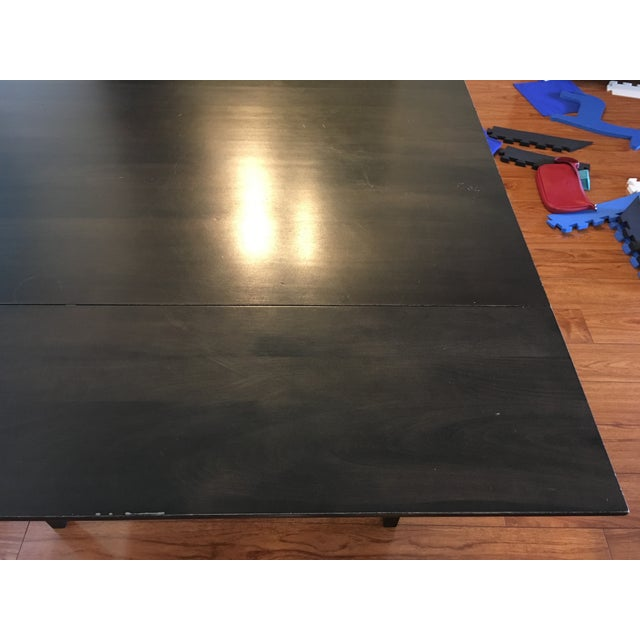 Room & Board Drop-Leaf Dining Table For Sale - Image 5 of 9