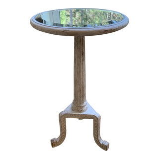Rustic Bliss Studio Scroll Accent Table For Sale