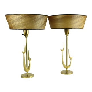 Mid Century Table Lamps by Rembrandt- A Pair For Sale