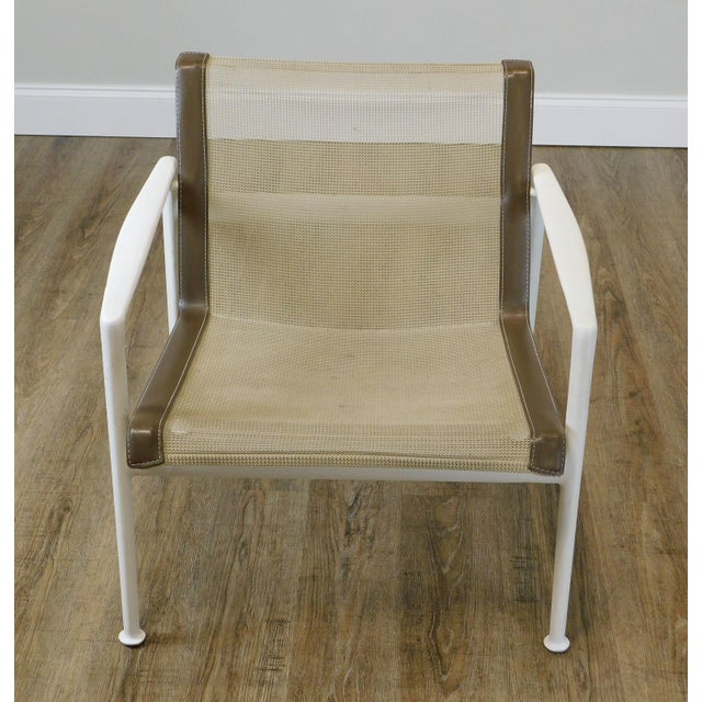 Mid-Century Modern Knoll Richard Schultz 1966 Patio Lounge Chair with Arms For Sale - Image 3 of 13