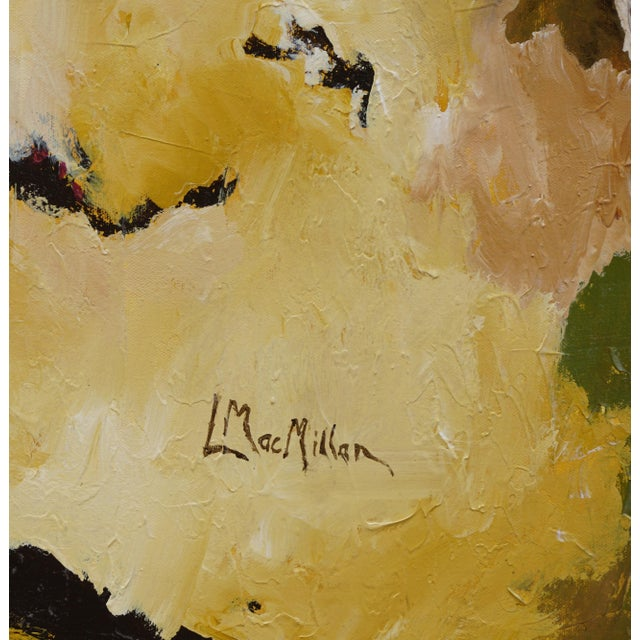"2010s Laurie MacMillan ""Taking Flight"" Abstract Painting For Sale - Image 5 of 6"